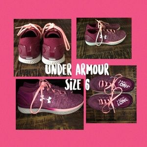 Women's Under Armour Charged Bandit 3 Size 6 NWOB